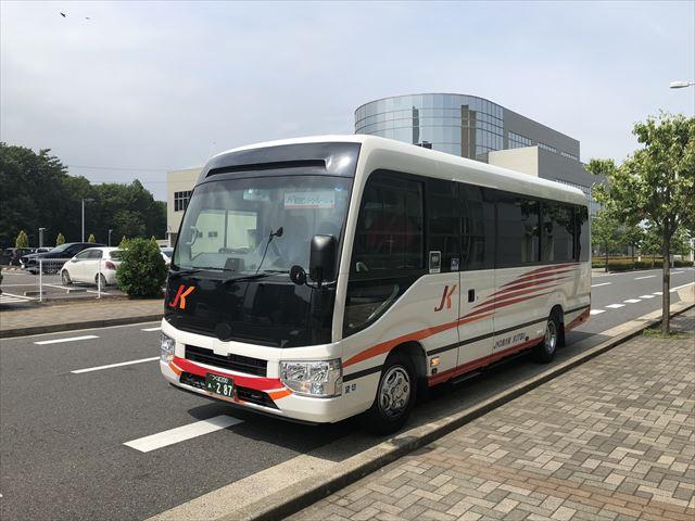 専用送迎バス